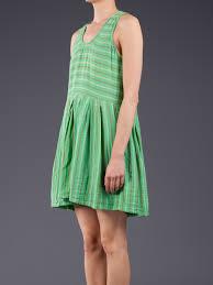 ace u0026 jig boardwalk tank dress in green lyst