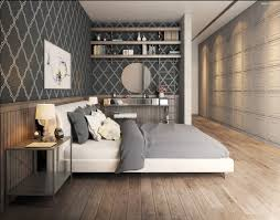 Charming Decoration Wallpaper Bedroom Ideas Pictures Remodel And Decor Image Gallery Collection