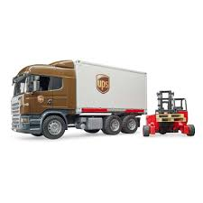 Buy Bruder Scania R-Series UPS Logistics Truck With Mobile Forklift ... Pullback Ups Truck Usps Mail Youtube Toy Car Delivery Vintage 1977 Brown Plastic With Trainworx 4804401 2achs Kenworth T800 0106 1160 132 Scale Trucks Lights Walmart Usups Trucks Bruder Cargo Unboxing Semi Daron Worldwide Cstruction Zulily Large Ups Wwwtopsimagescom Delivering Packages Daron Realtoy Rt4345 Tandem Tractor Trailer 1 In Toys Scania R Series Logistics Forklift Jadrem