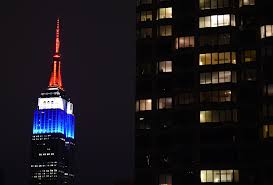 See a of the Empire State Building Going Dark For Charlie