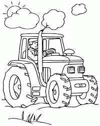Coloriage Tracteur En Ligne Fantastique Construction Coloriage For