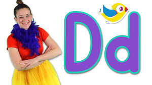 The Letter D Song Learn the Alphabet