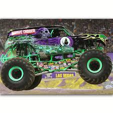 100 Gravedigger Monster Truck MQ1061 Sport Racing Car Grave Digger Jam Hot New Art Poster