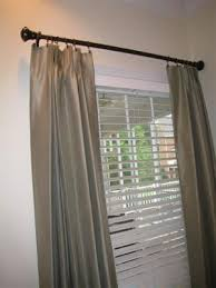 Walmart Eclipse Curtains Pewter by Better Homes And Gardens Curtain Rod Set Bronze 1
