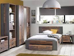 jugendzimmer cedric 66 vintage braun 4 teilig schlafzimmer