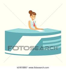 Young Smiling Woman News Presenter In Broadcasting Studio Cartoon Female Reporter Character Concept TV People At Workplace Vector Illustration Flat