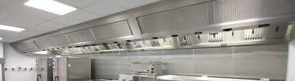 kitchen ventilation uv air filtration commercial kitchen canopy