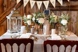 Rustic Wedding Table Decor By Amy And Jen