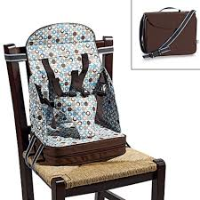 Kaboost Portable Chair Booster Chocolate by Booster Chairs Feeding Baby