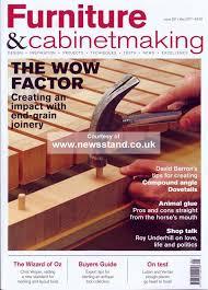 furniture u0026 cabinet making magazine subscription buy at