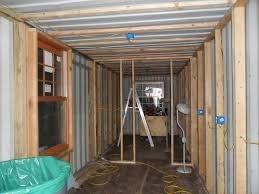 100 Inside Container Homes BRHS Students Framed Out The Inside Of The Container Of