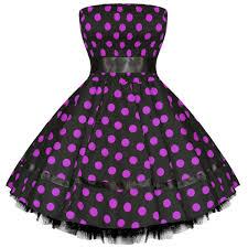 hearts and roses london new polka dot vintage 50s retro swing