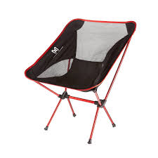 Camp Chair With Footrest by Moon Lence Ultralight Portable Folding Camping Chair With Carry
