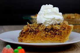 Pumpkin Pie With Pecan Praline Topping by Pumpkin Pecan Streusel Pie Dinner Then Dessert