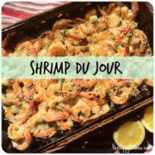 cuisine du jour shrimp du jour balance