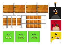 How To Make Your Own Playable Papercraft Version Of Angry Birds