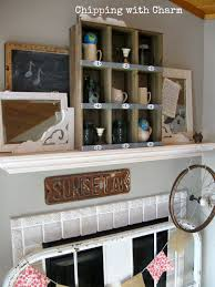 Chipping With Charm Spring Mantel 2015wwwchippingwithcharm