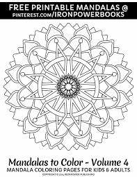 Free Printable Mandala Coloring Pages For Stress Relief Or As Art Therapy