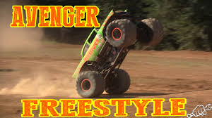 AVENGER MONSTER TRUCK FREESTYLE - YouTube Monster Truck Toy And Others In This Videos For Toddlers 21 Trucks Races Cartoon Cars Kids Educational Video Just Cause 3 How To Unlock The Incendiario Monster Truck Train For Kids Children Mega Tv Youtube Videos On Youtube Nornasinfo Stunt Chase Car Wash Stunts Animal Shark S Mickey Mouse Colors U Hot Wheels Grave Digger Drive A Street