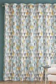Grey And Turquoise Living Room Curtains by The 25 Best Geometric Curtains Ideas On Pinterest Grey Gray And