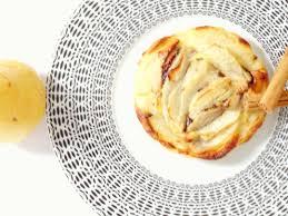tartelette choco poire amandine sans gluten sans lactose