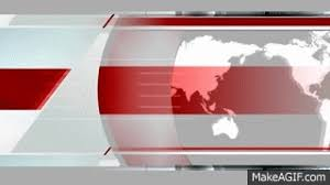 Free Virtual News Studio Background Red HD2