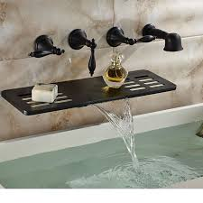 Wall Mounted Led Waterfall Faucet by Best 25 Bathtub Faucets Ideas On Pinterest Shower Fixtures