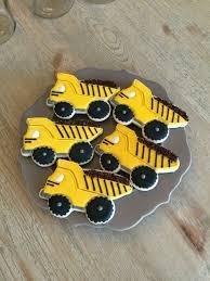 100 Dump Truck Cookies Dump Truck Cookies Sugar Cookies Royal Icing Boy Birthday