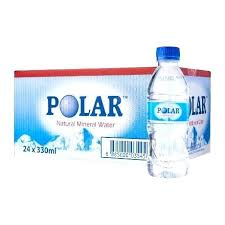 Case Of Water Bottles Polar Natural Mineral 0 Cost