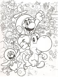 100 Grimm Brothers Trucking Super Mario Bros Coloring Pages Free Large Images Kids Coloring