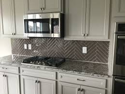decor modern greige kitchen cabinet with granite countertop and