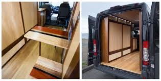 The Ryda Van Conversion Was Designed To Suit Wells Needs As A Cargo Work