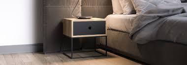nachttische fürs schlafzimmer in edlem design smartambiente
