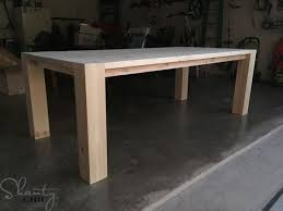 Wood Kitchen Table Plans Free by Best 25 Modern Farmhouse Table Ideas On Pinterest Dining Room