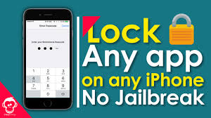 Lock Apps with Passcode on any iPhone NO JAILBREAK 2017
