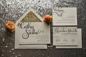 Black And Gold Rustic Wedding Invitations Twine Metallic