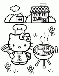 Hello Kitty Coloring Pages Online 2a6g4
