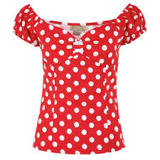 red polka dot t shirt promotion shop for promotional red polka dot