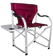 Lightweight Aluminum Directors Chair by Best Heavy Duty Folding Camping Directors Chair Reviews Best