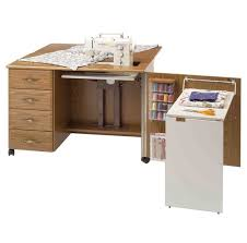 Sewing Cabinet Plans Build by 16 Crafting Table With Storage To Indulge In Creativity Home