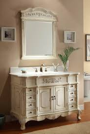 48 Inch Double Sink Vanity by Home Style With White Bathroom Vanities Bathroom Decorating Ideas