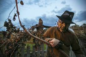 Scariest Halloween Attractions In Mn by Zombie Paintball Bus Added To Clear Lake Haunted Hike Local