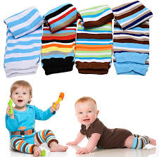 amazon com judanzy blue boy stripes baby leg warmers 4 pack for