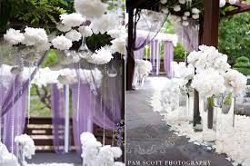 Modern And Posh Purple Wedding Denise Tim