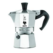 Amazon The Original Bialetti Moka Express Made In Italy 1 Cup Stovetop Espresso Maker With Patented Valve Kitchen Dining