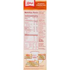 Krusteaz Pumpkin Pie Bar Calories by Libby U0027s Pumpkin Cheesecake Kit 17 75 Oz Box Walmart Com