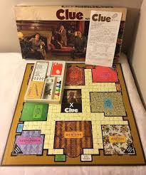 Vintage Parker Brothers CLUE 1972 Detective Board Game 100 Complete
