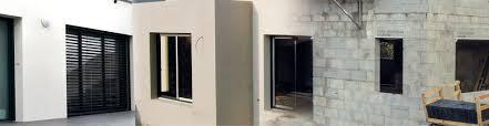 coffre demi linteau terreal coffre volet roulant beton construction maison béton armé