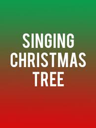 Singing Christmas Tree Poster