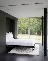Rustic Murphy Beds Bedroom Contemporary With Dark Floor Guest Room Built In Storage
